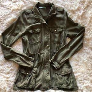 Military Inspired Utility Jacket
